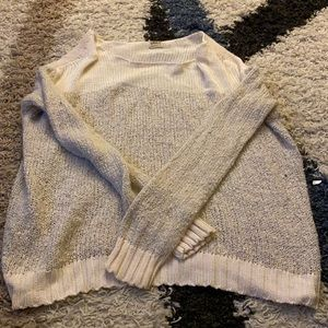 Cream knit 'ONLY' sweater